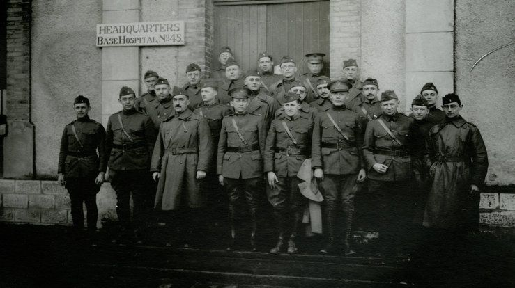 Medical College of Virginia corps in France during World War I